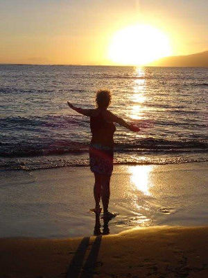 Hawaiianische Koerperarbeit
